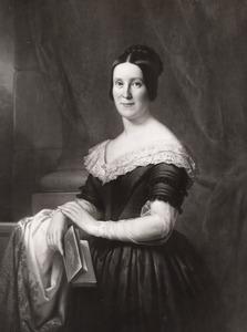 Portret van Hieronyma Maria Antonia Fortunata  barones van Slingelandt (1814-1875)