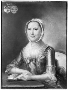 Portret van Lucretia Lombe (1723-1794)