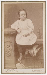 Portret van Dora de Vries (1885- )