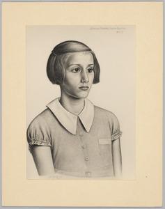 Portret van Johanna Mijnotje Judith Slagter (....-....)