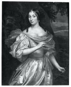 Portret van een vrouw, mogelijk Françoise van Aerssen van Sommelsdijk (1642-1720)