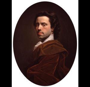Zelfportret van Allan Ramsay