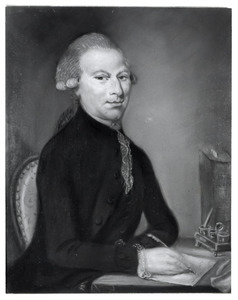 Portret van Hendrik van Oosterzee (1752-1816)