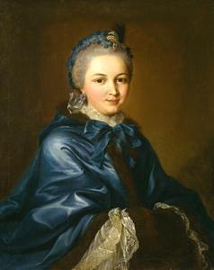 Portret van Amalie Apell (1757-1837)