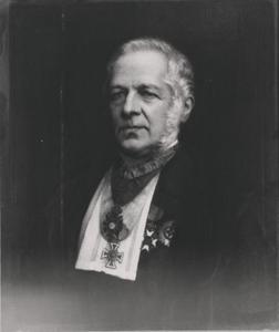 Portret van Christoporus Henricus Diedericus Buys Ballot (1817-1890)