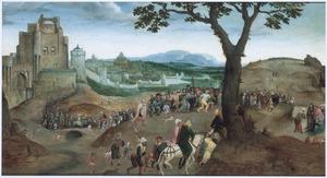Landschap met de kruisdraging