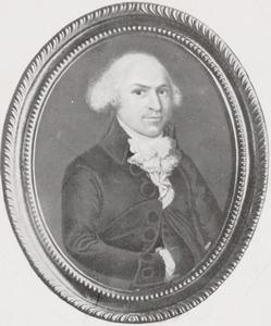 Portret van Arent Santhagens (1760-1824)