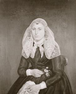 Portret van Petronella van der Straaten (1829-1915)