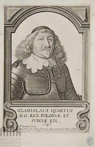 Portret van Waldislaus IV Wasa, koning van Polen (1595-1648)