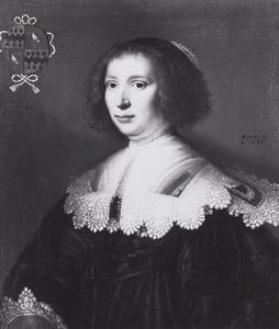 Portret van waarschijnlijk Beatrix van Byemont (1605-1673)