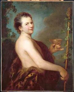 Zelfportret als Bacchus