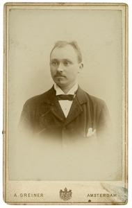 Portret van Johan Gerrit Appeldoorn (1862-1945)