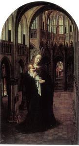 Maria met kind in een kerk