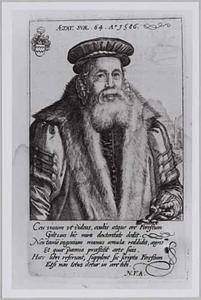 Portret van Pieter van Foreest (1521-1597)
