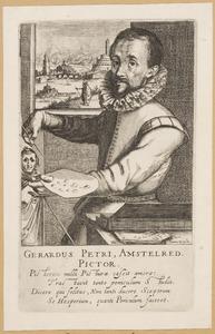 Portret van Gerrit Pietersz. Sweelink (1566-....)