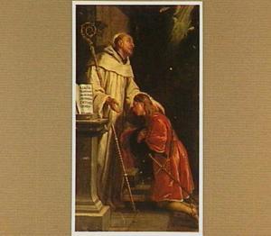 De intrede van de H. Bernardus in de Cisterciënser orde