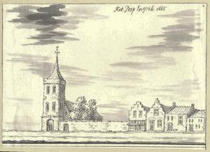 Gezicht in het dorp Enspijk 1665