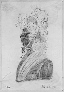 Portret van Carolina Frederica van Wijnbergen (1771-1842)