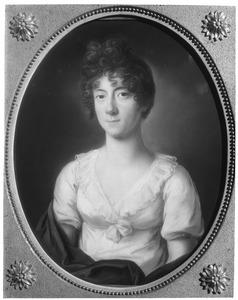 Portret van Frederica Louise Wilhelmina van Oranje- Nassau (1770-1819)