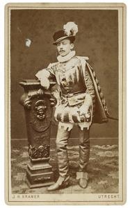 Portret van Everhardus Cornelis Godée (1859-...) als Heer van Saventhem