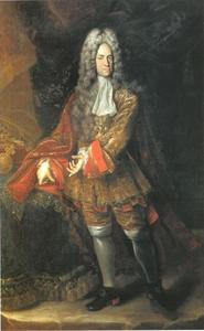 Portret van Karel VI, keizer van Ooostenrijk, koning van Hongarije, Bohemen etc.