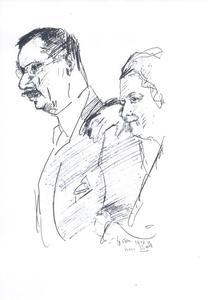 Portret J.M.P. en A.C.G. Glerum