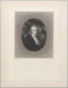 Portret van Bernardus Franciscus Suerman (1783-1862)