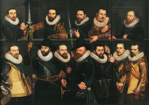 Het korporaalschap van luitenant Pieter Pietersz. Hasselaer
