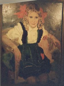 Portret van Karina van Abbe (1940-2003)