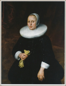 Portret van een 36-jarige vrouw