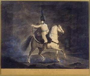 Portret van Jan Hendrik Cornelis van Hasselt (1776-1812)