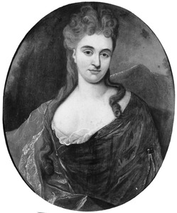Portret van Sara Dozy (1685-1759)