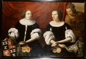 Dubbelportret van regentessen van het Ewoud en Elisabeth Gasthuis te Wijk bij Duurstede