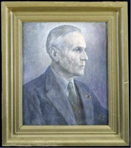 Portret van H.A. (Hendrik Albertus) Brouwer (1886-1973)