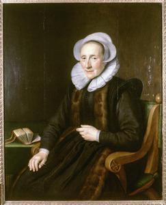 Portret van mogelijk Maria Mollen