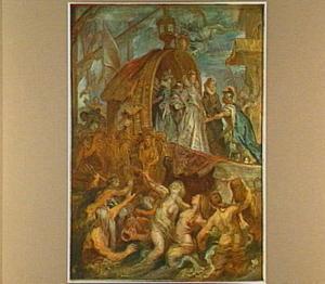 De aankomst van Catharina de' Medici in Marseille