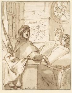 Portret van Philips de Flines (1640-1700)