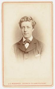 Portret van Willem Adriaan van Ittersum (1862-1927)