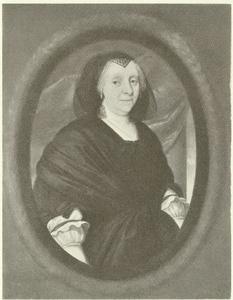 Portret van een onbekende vrouw, genaamd Anna von Horn