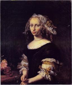 Portret van Constantia von Holten-Schumann (1638-1680)
