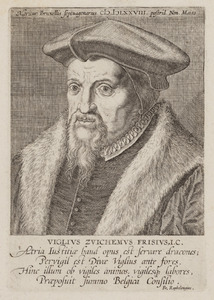 Portret van Viglius van Aytta van Zuichem (1507-1577)