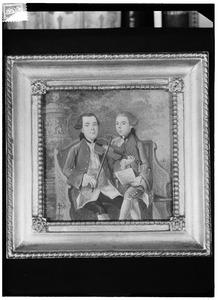 Portret van Daniel Francois Pichot (1744-1788) en Jan Albert Pichot (1745-1765)