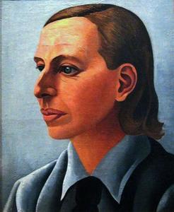 Portret van An Schräder (1887-1951)