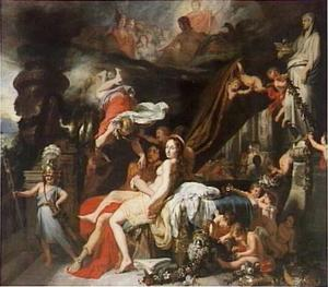 Mercurius gelast Calypso Odysseus te laten gaan