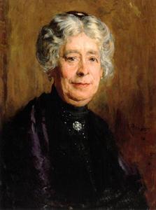 Portret van Maria Louisa Pundke (1855-1929)