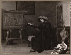 Zelfportret van Pieter Codde (1599-1678)
