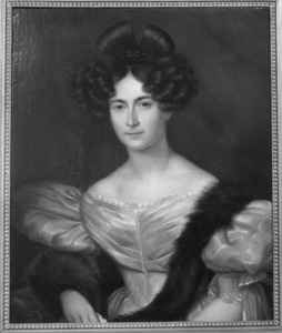 Portret van Margaretha Johanna Wilhelmina van Lynden (1794-1840)