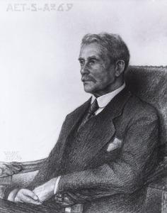 Portret van Johann Joseph Aloys Arnold Frantzen (1853-1923)