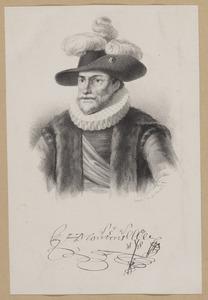 Portret van Godefroi Montens (1554-1621)/1623