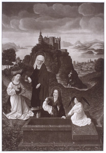 De drie Maria's bij het graf
